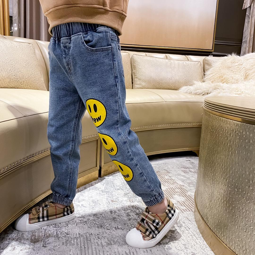 New Toddler Boy Girl Denim Pants Autumn Winter Kids Baby Boys Casual Fashion Cotton thickening Trousers