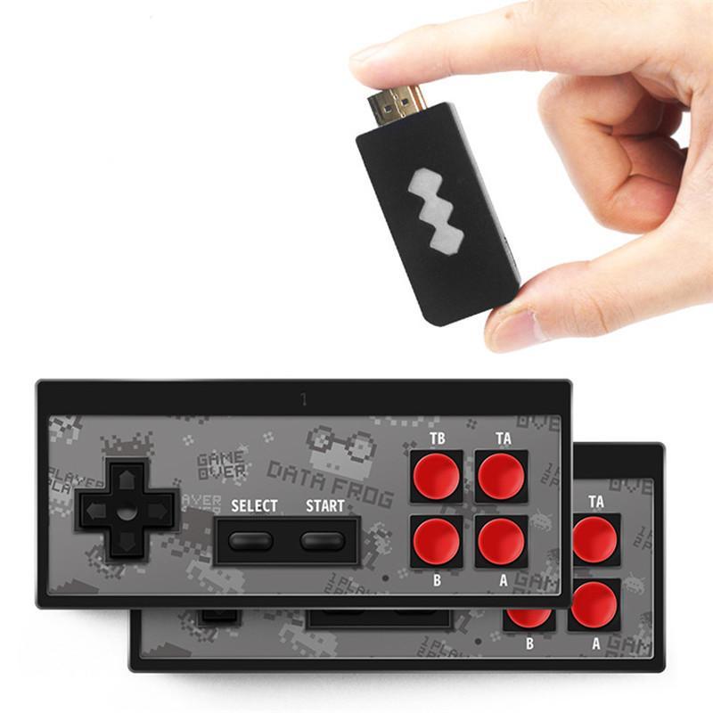 Y2 Retro Game Console Support 2 Spieler können 568 klassische Videospiele USB Handheld Infrarot Retro Gamepad Controller aufbewahren
