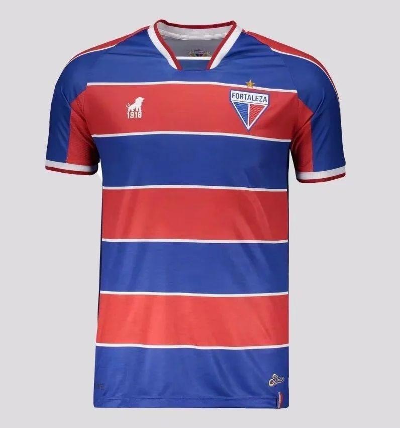 2020 2021 فورتاليزا لكرة القدم الفانيلة Alipio Gustavo Natel Jacare Maximiliano Edinho مخصص 20 21 Fortaleza CE الرئيسية كرة القدم قميص موحدة