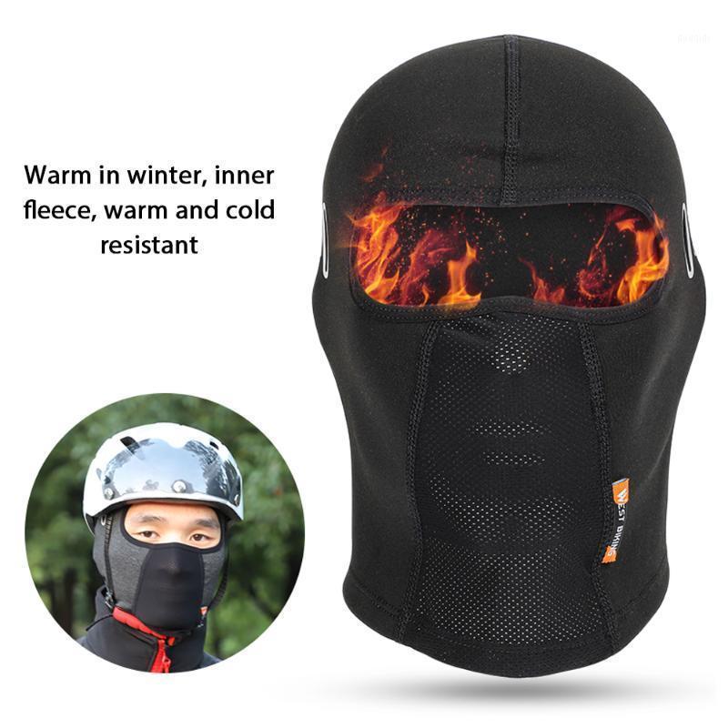 West Biking Winter Winding Warm Equitazione Cap Camping Sci Maschera in pile con occhiali da vista Maschera per biciclette in moto