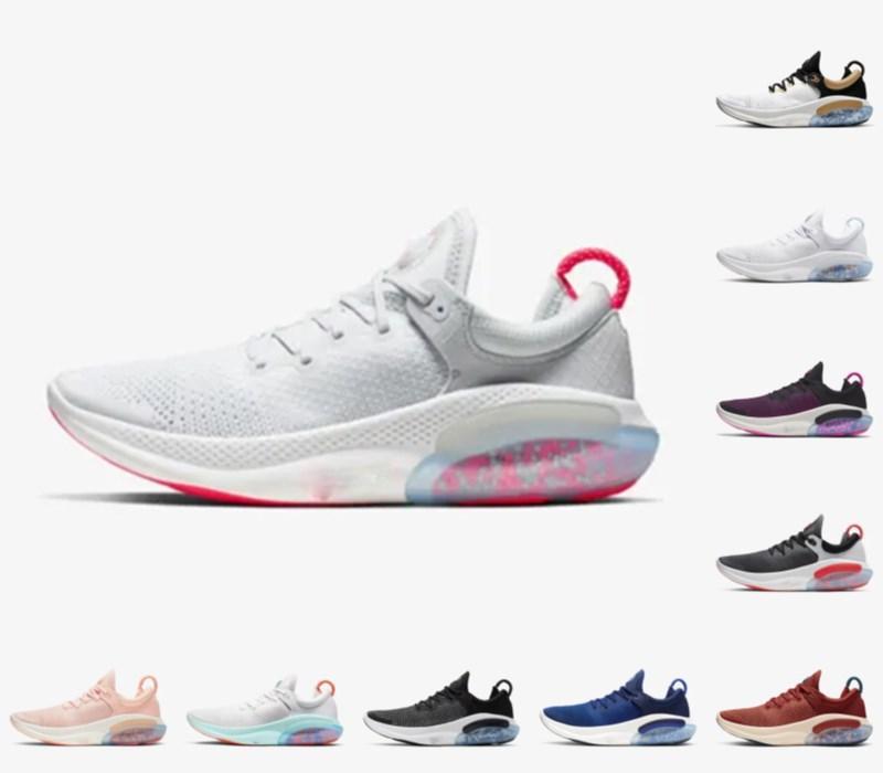 جودة عالية 2021 جديد Joyride Run FK Mens Womens الاحذية ثلاثية أسود أبيض البلاتين المتسابق الأزرق مصممي الرياضة أحذية رياضية فائدة