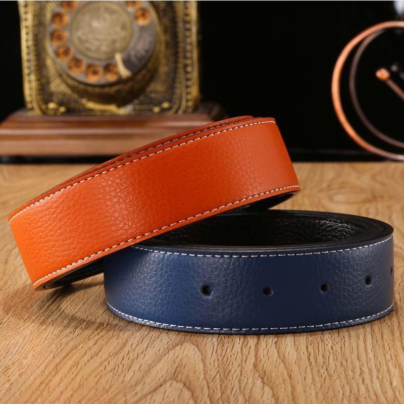 Modedesigner von Herren und Frauengürtel mit großer Schnalle-Top-Hochwertige Luxus-Gürtel Classic H Brand Box (Faux LeatherAlloyBlack blau braun rot weiß orange)
