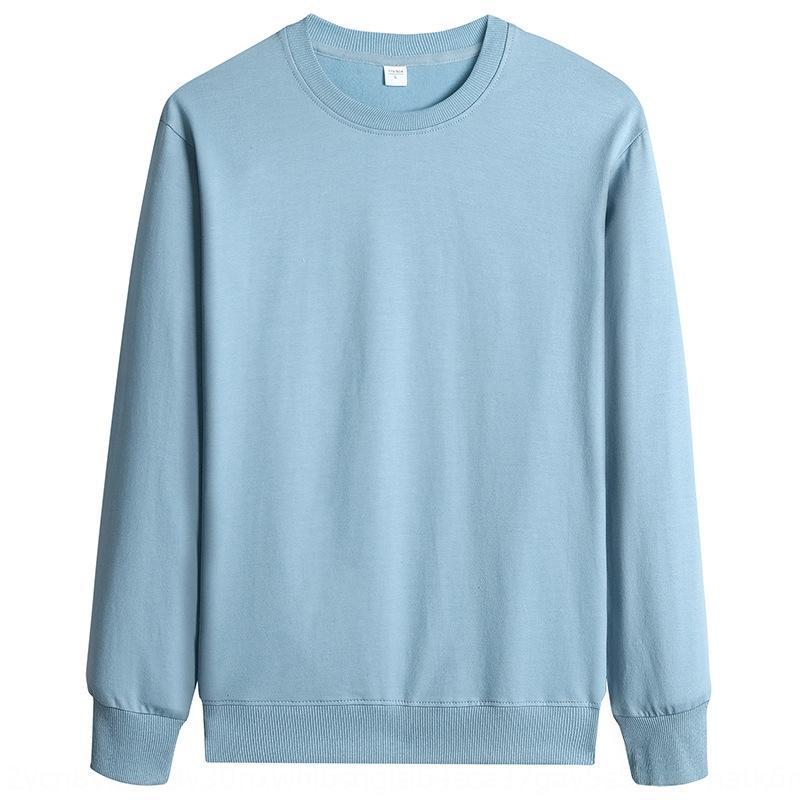 Herren-Pullover Rundhals fest Sweatshirt sweatshirtT-Shirt sweatshirtcolor 97 Baumwolle Herbst Sport der Männer Pullover Langarm T-Shirt PKia1