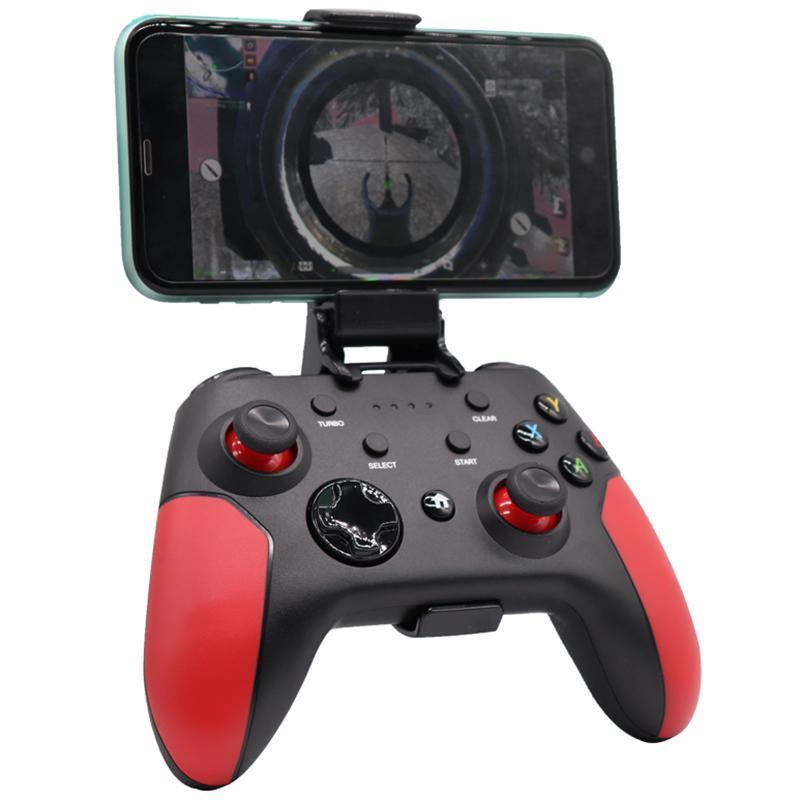 Contrôleur de jeu sans fil pour NS Lite Commutateur contrôleur Bluetooth Gamepads à distance pour PUBG le jeu mobile Huawei
