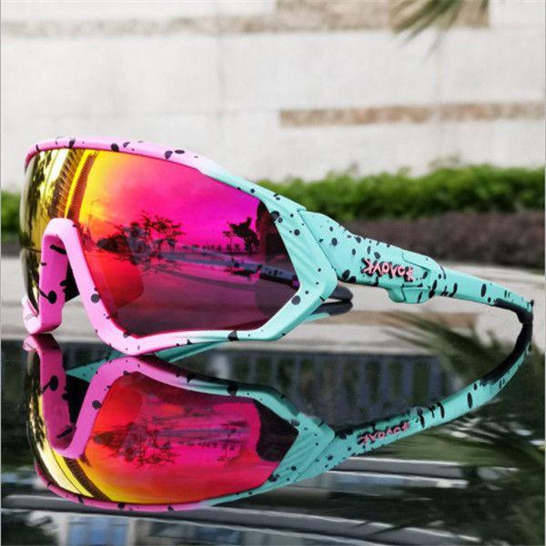 Óculos de ciclismo ao ar livre Homens Esportes Óculos de Esportes Mountain Bike Óculos de Lente Polarizada Óculos de Sol UV400 Bicicleta Óculos Com Caso