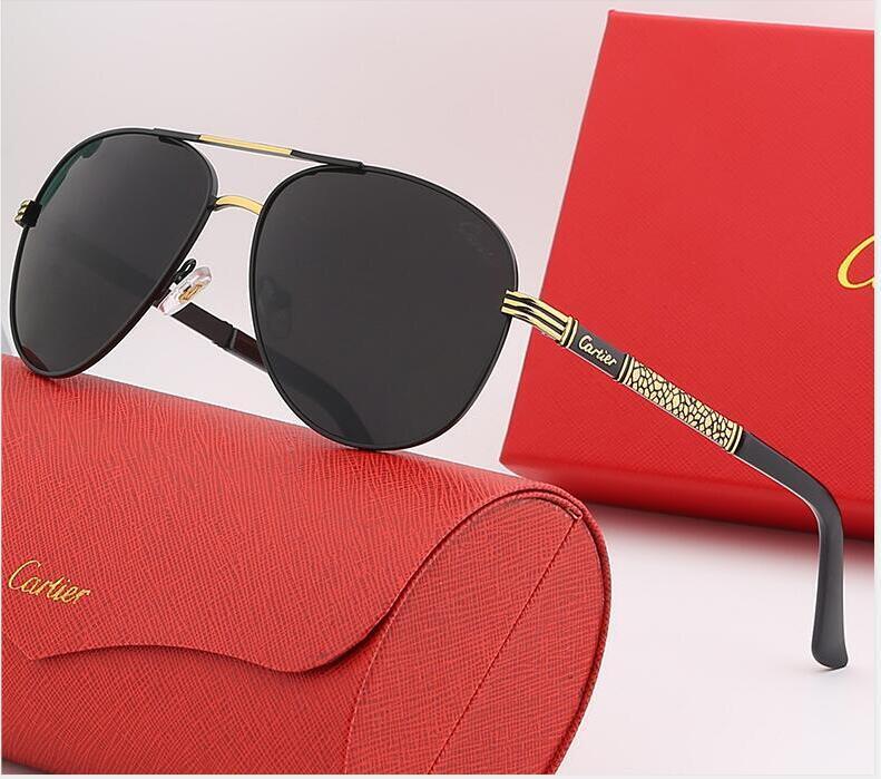 888 Tasarımcı Güneş Gözlüğü Lüks Güneş Gözlüğü Moda Marka Için Adam Cam Sürüş Için UV400 Adumbral Kutusu Renk Ile İsteğe Bağlı Yüksek Kalite