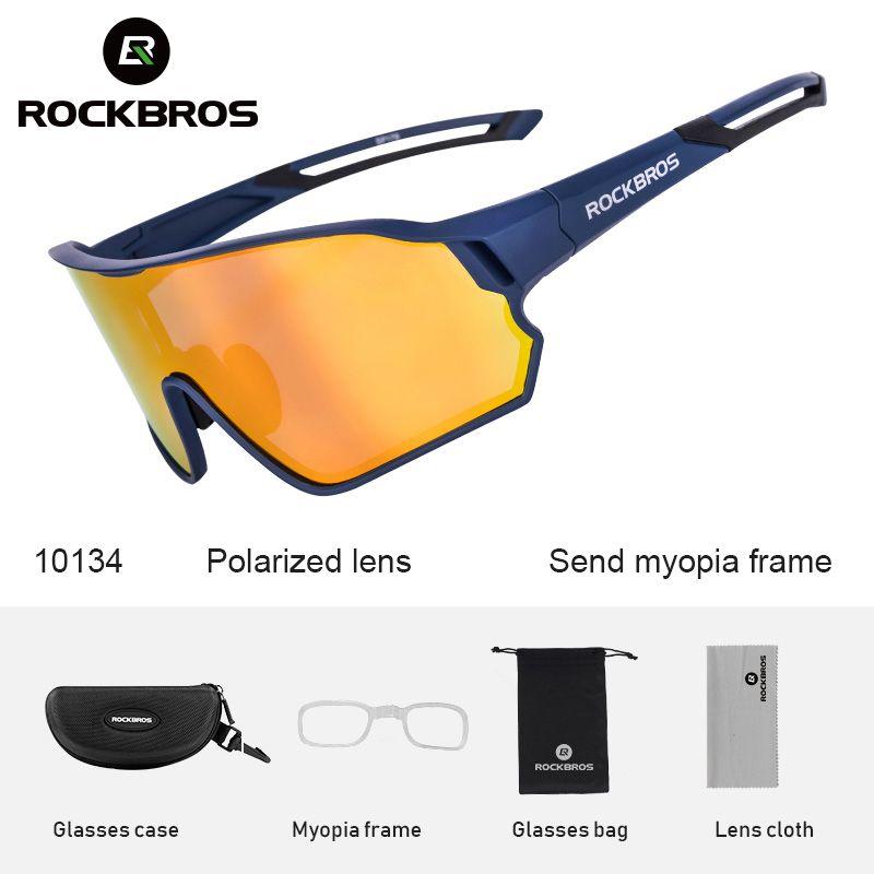 RockBros Polarized PhotoChromic Велосипедные очки Велосипедные Очки Открытый Спортивный МТБ Велосипедные Солнцезащитные Очки Очки Майопа рамка Q0119