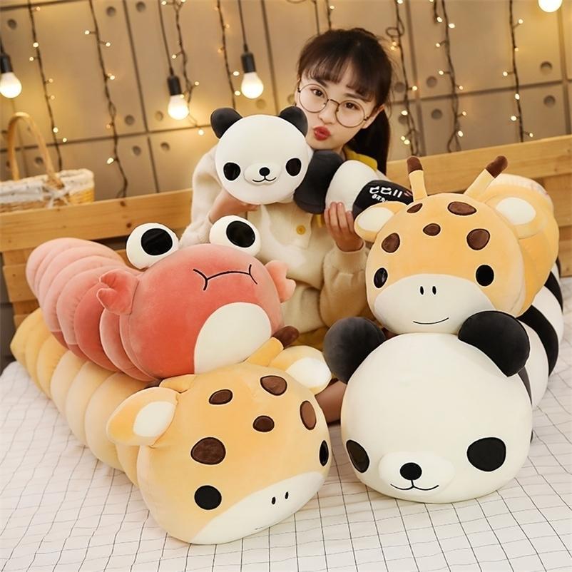 Bonito Um long peluche inseto transformar panda pelúcia brinquedo juguete pillow pelúcia animais peluches grandes lar boneca presente de boneca 201222