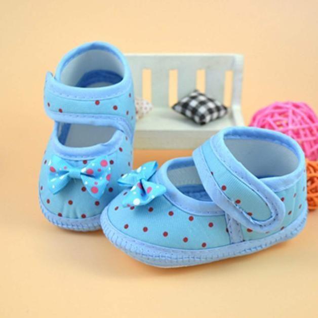 Baby Bowknot Boots Обувь для новорожденных 0-18 месяцев Детская мягкая Детская кроватка для печати Первая прогулка Обувь Девочка Мальчик Милый малыш