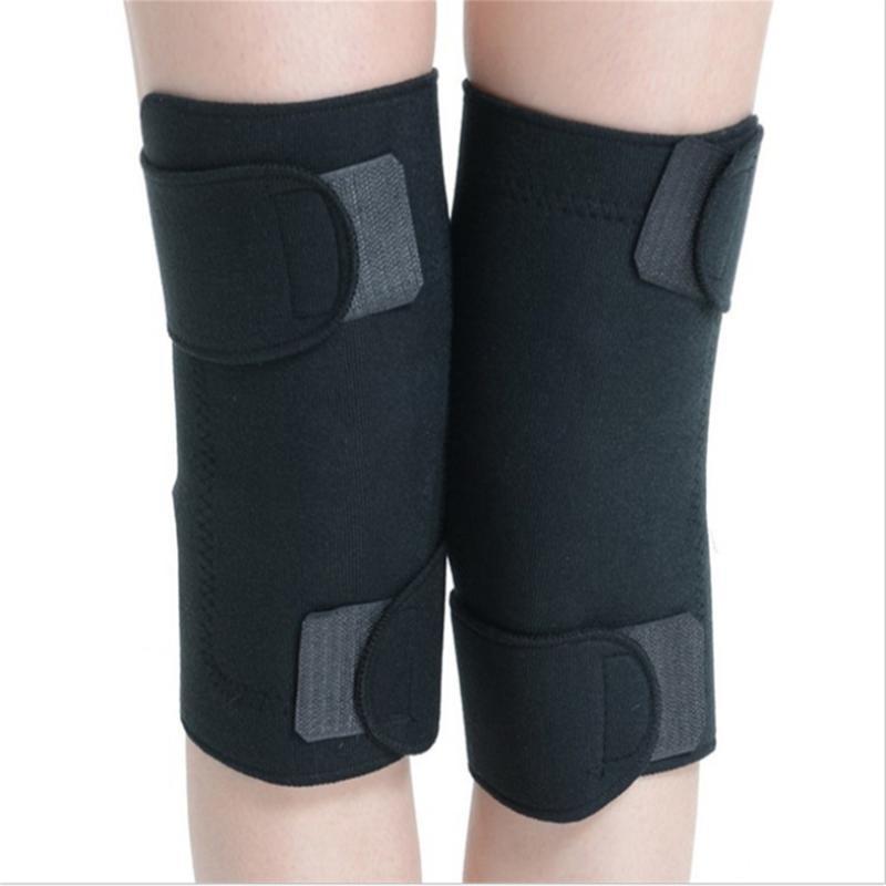 2 unids / lote cuidado de la salud turmalina autocalentamiento almohadillas de rodilla infrarrojo lejano terapia magnética espontánea almohadilla de calefacción de alta calidad