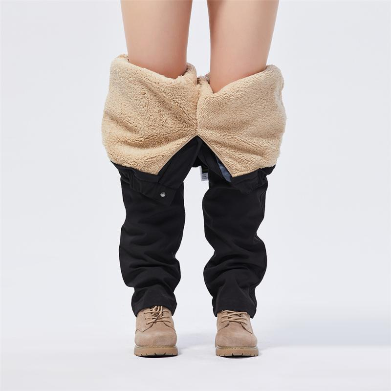 Pantalones corriendo Los hombres y las mujeres tres en un otoño desmontable Invierno de invierno impermeable a prueba de agua a prueba de agua al aire libre cálido traje de montañismo