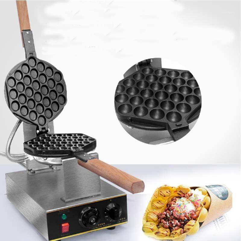 Bread Makers 1415W Electric Waffle Maker Commercial Non-stick Pan Egg Bubble Eggettes Puff Cake Machine Oven1