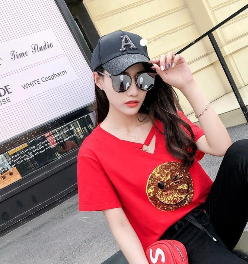 Lady Letter Casual Ayarlanabilir Siperlik Ücretsiz Nakliye 2019 Yeni Ilkbahar Yaz Beyzbol şapkası Elmas Letter A D R Beyzbol Caps