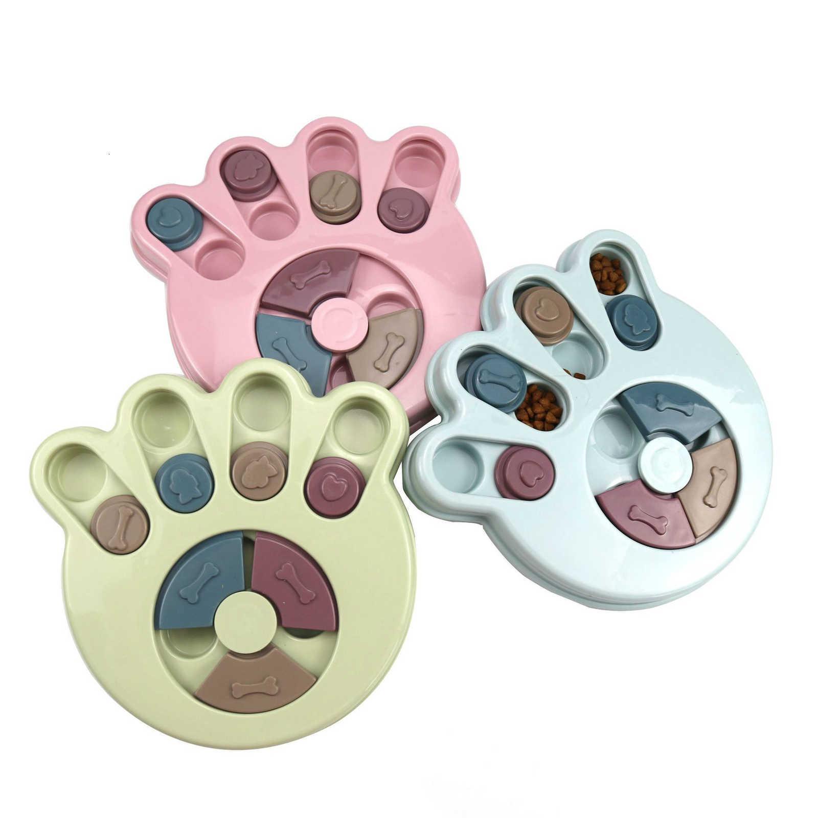 Suministros para mascotas Perro Comer Treasure Educativo Caza Fugas Interesante Vajilla Entrenamiento Toys Food Juguetes