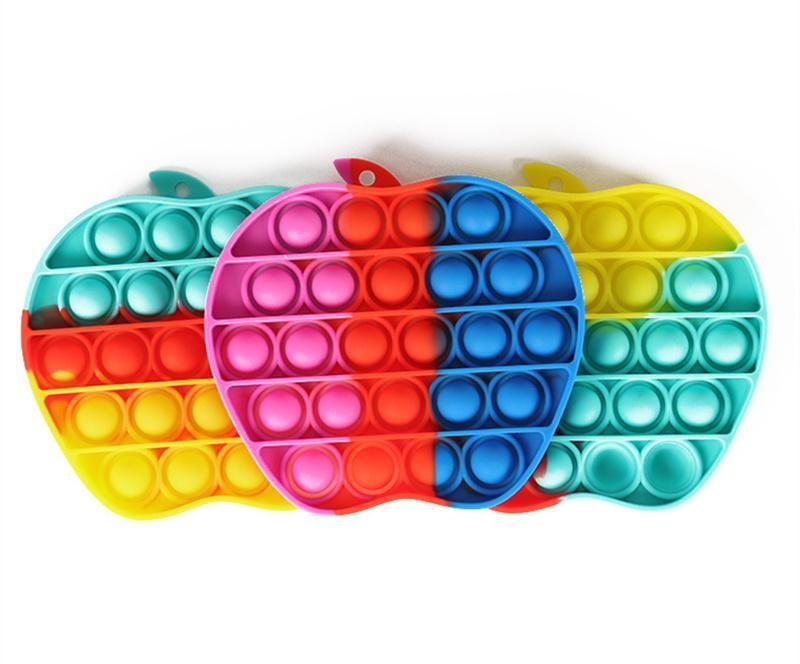 Push Pop Zappel Spielzeug Sensory Pop Es Zappeln Spielzeug Schmetterling Autismus Sonderbedürfnisse Angst Stress Reliever Für Kinder Erwachsene Familie