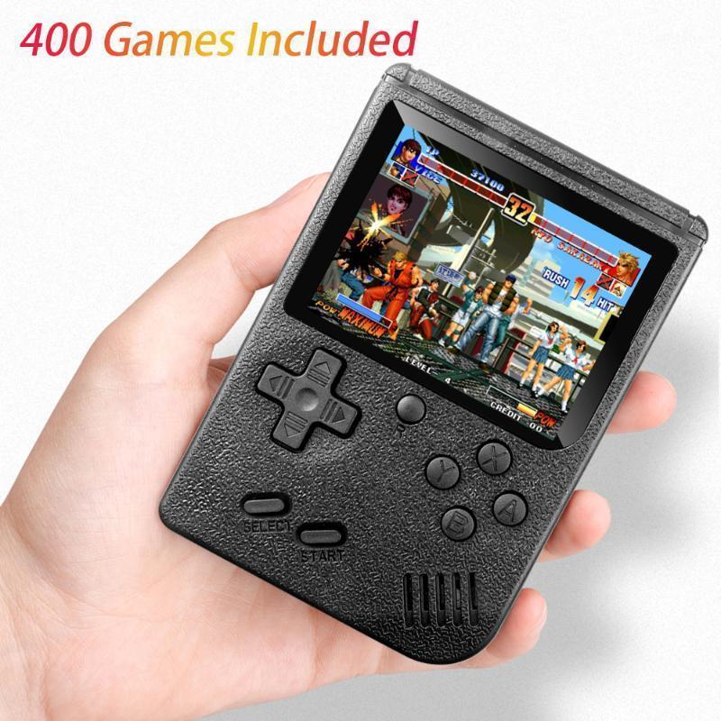 Design classico 400 in 1 GameBoy Retro Pocket 3.0inch schermo TV AV OUT per Bambino Boy Gift1