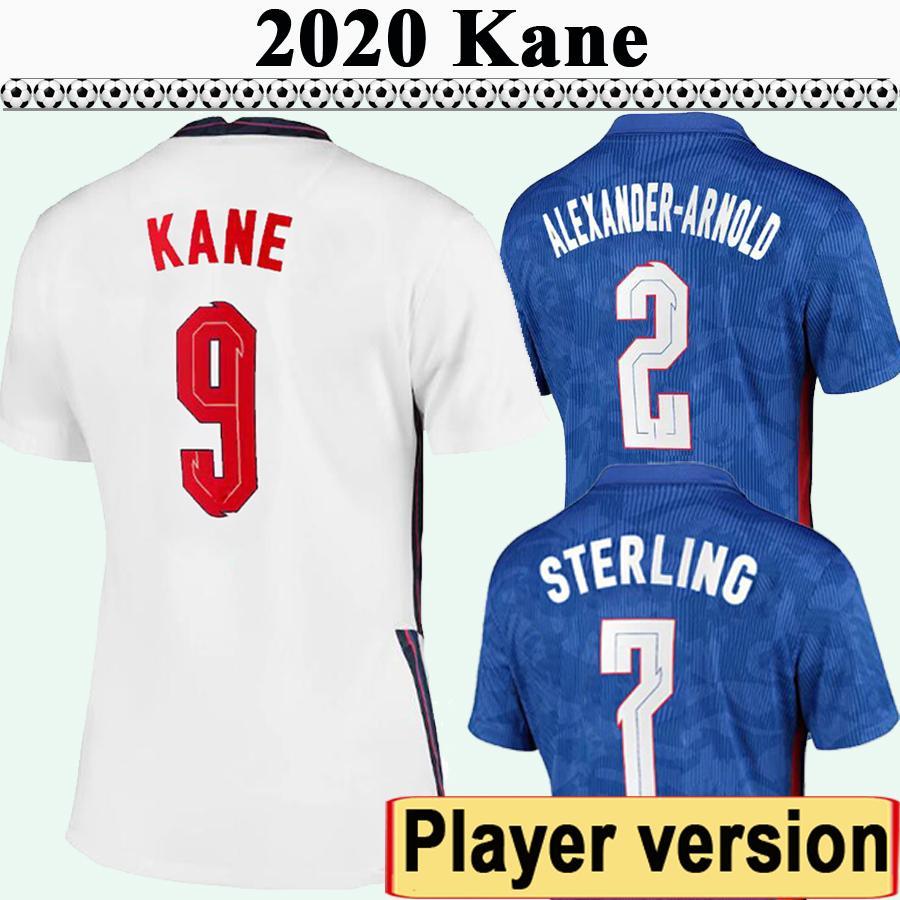 2020 Mens Kane Rashford Version Jersey Jerseys Sterling Gomez Maddison Trippier Rose Dele Home Away Football Shirt Uniformes