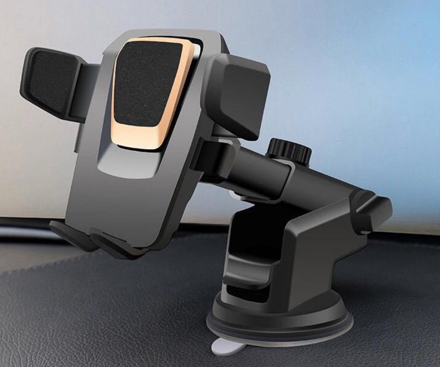 Universal 360 gradi Easy One Touch Car Mount per iPhone X Max Handfree Smart Cellphone Portacellulato A ventosa Supporti a base di supporto con pacchetto