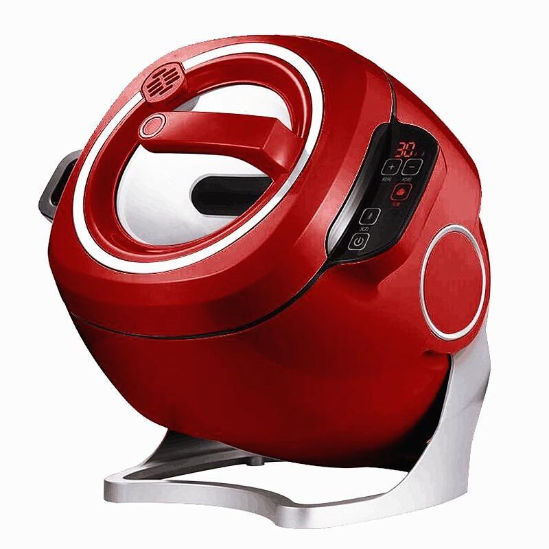 220 فولت المنزلية التجارية الكهربائية ذكي التلقائي ضجة القلي آلة 6L غير عصا الطبخ ووك وعاء متعدد طباخ وعاء