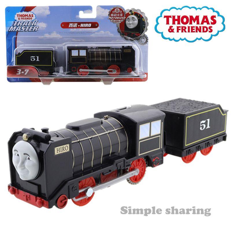 Thomas et ses amis piste maître moteur Hiro Railway Locomotive train modèle motorisé enfants jouet éducatif cadeau d'anniversaire