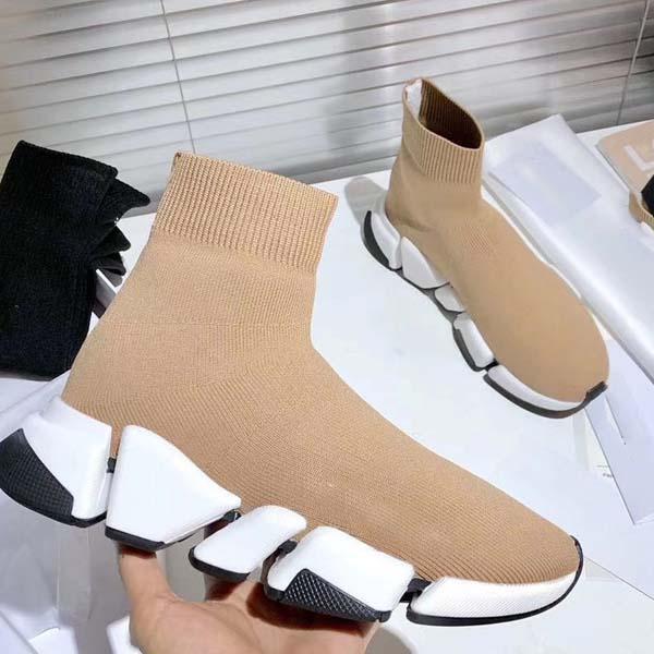 2021-Nuovo calzino corto stivali Designer stivali corto di alta qualità classiche scarpe da tennis Runners walking jogging outdoorshoes34-45 con la scatola