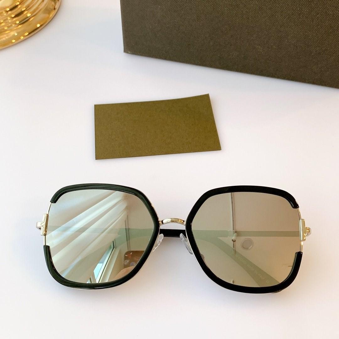 Óculos de sol das mulheres full frame 2020new novo design dos homens elegantes óculos óculos retangulares FT0876