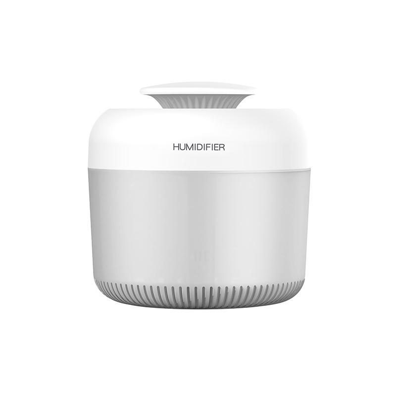 Difusor de aceite esencial Ultrasonic USB Humidificador de aire de 2400 ml con respiración LED Luces de colores para el hogar y la oficina