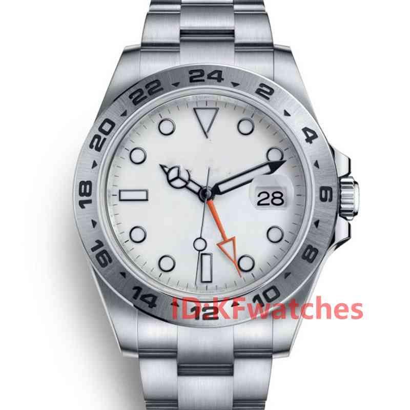 Мода Мужские резиновые ремень мужские женские течки GMT Автоматическое механическое подвижность Самозавязные дизайнерские наручные часы из нержавеющей стали