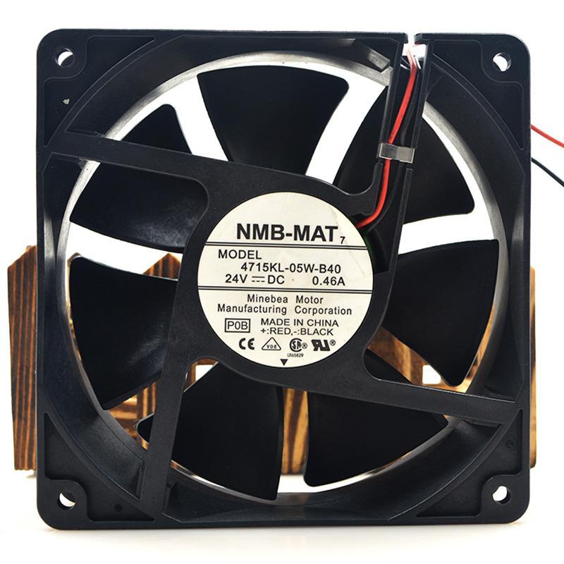 Brandneue Hohe Qualität 4715KL-05W-B40 24VDC 0.46A 12cm Kühler Luftkühlgebläse