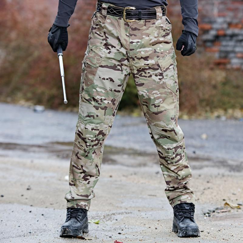 Pantalon Tactique IX Pantalons spéciaux Forces spéciales Formation en plein air Automne Hiver Alpinisme Pantalon résistant à l'usure
