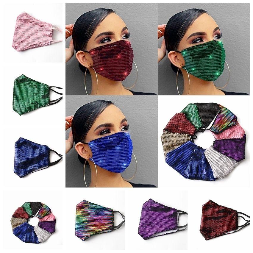 РОТ моющиеся пылезащитные модные блестки PM2,5 солнцезащитный чехол по многоразовой защите от пыли маски 6STYLELS RRA3314IN Stock124455