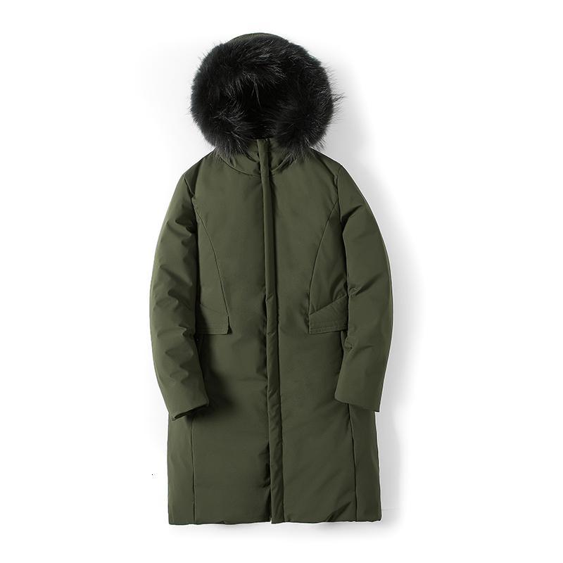 2021 Nouveaux manteaux d'hommes en hiver avec une fermeture à glissière chaude Vêtements de vêtements plus gros m-3xl TMCI