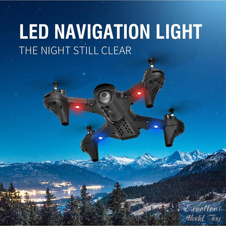 EMT MN01 4K كاميرا مزدوجة FPV الطائرة بدون طيار لعبة طفل، المسار الطيران، ارتفاع الإيقاف، الذكية متابعة، 360 ° الوجه، الجاذبية الاستقراء، هدايا عيد الميلاد، USEU