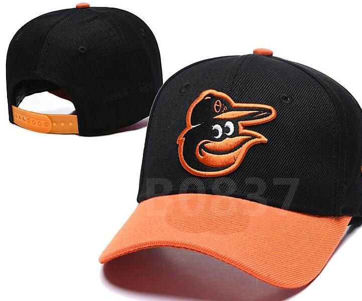 Irrésistible Hot 2020 Baseball Snapback Orioles Chapeaux os casquettes de baseball plates femmes mens a1