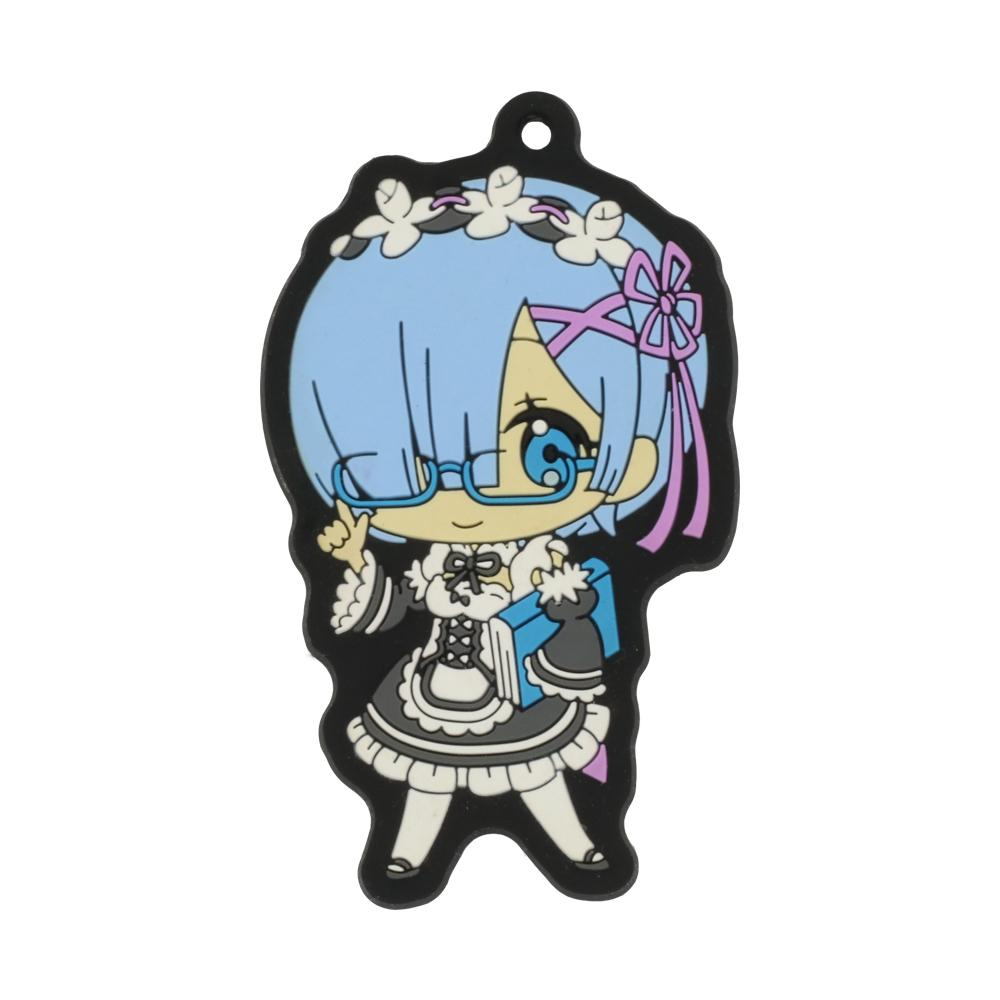 Kawaii custom kawaii cartoon morbido PVC Keychains Vendita calda 2020 Nuovo design anime stile PVC portachiavi