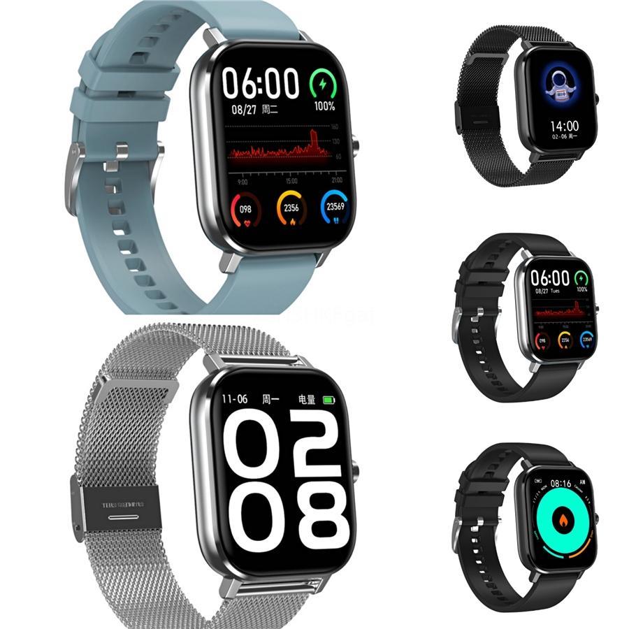 2020 Bluetooth inteligente reloj de los hombres presión arterial Ronda SmartWatch mujeres reloj impermeable Deporte Rastreador de WhatsApp para Android Ios # 750