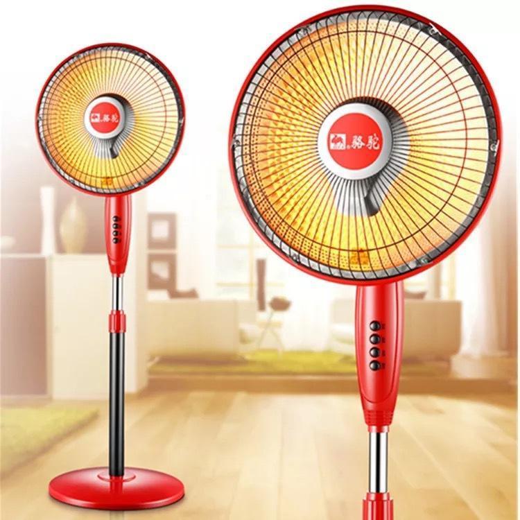 Andar de elevação Mini Aquecedor Eletrônico Abanar a Cabeça de ventilador elétrico do agregado familiar silencioso aquecimento elétrico aquecedor Roasting Fogão