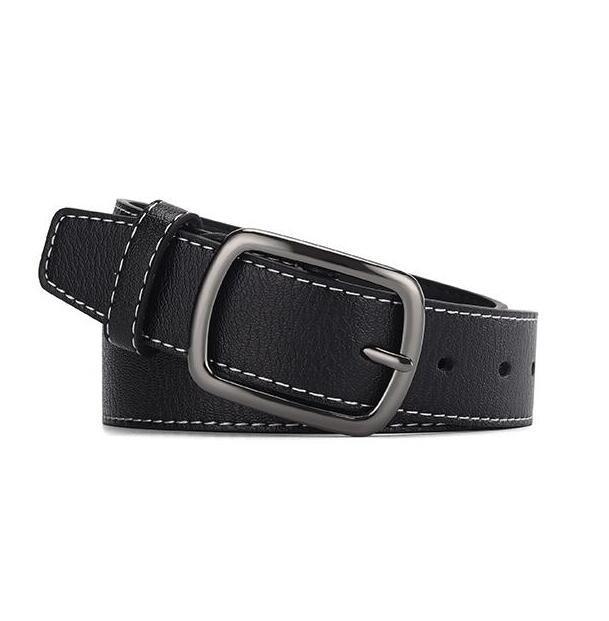 Erkekler Kovboy Günlük Moda Classice Vintage Pin Toka Belt için Hi-Kravat Erkekler Kemer Yüksek Kaliteli inek derisi Deri Kayış Kayışlar