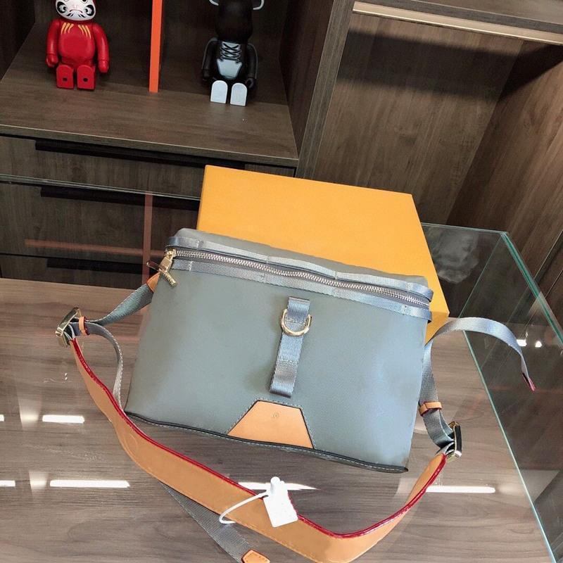 Mode Laserbeutel Postman Messenger Reißverschluss Versand Tasche Kamera Hohe Qualität Crossbody Frauen Original Taschen Unisex Bags Frei Schulter SDVCU