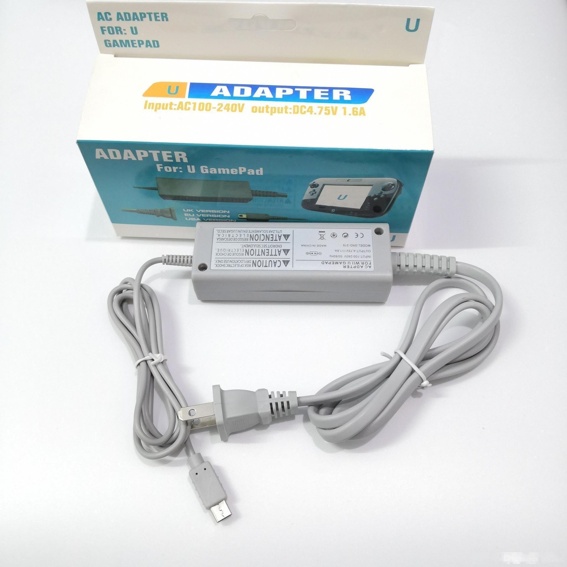 pour WiiU 100V-240V mur UE US Plug AC Power Adapter Chargeur pour Nintendo Wii U pour manette de jeu