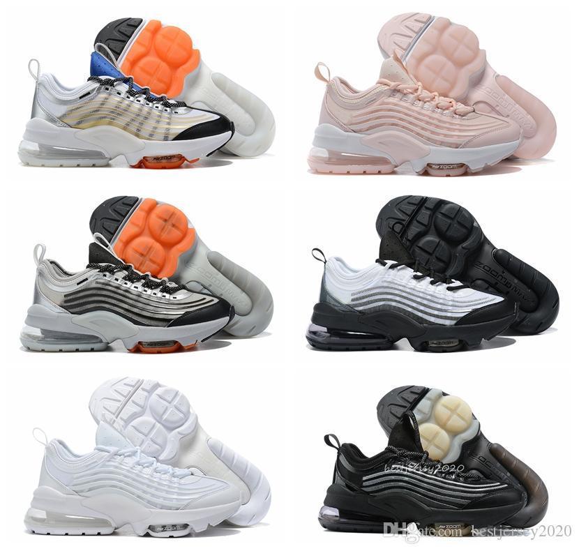 2020 Новый Увеличить 950 башмак Mercuial TN Plus Мужские кроссовки Мужской спортивный Run Тренеры Черный Белый Женщины кроссовки Chaussures 36-45