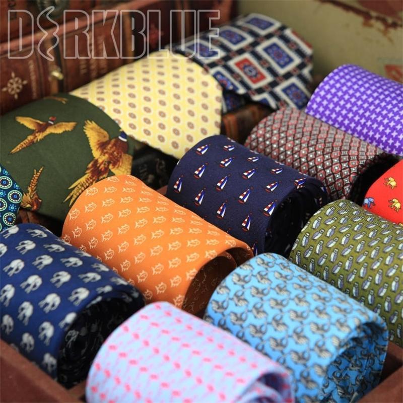 Skinny Tie padrão impresso verificado Mens multicoloridos gravata Magro gravatas Moda de Nova Chegada Suit presente para homens frete grátis 201027