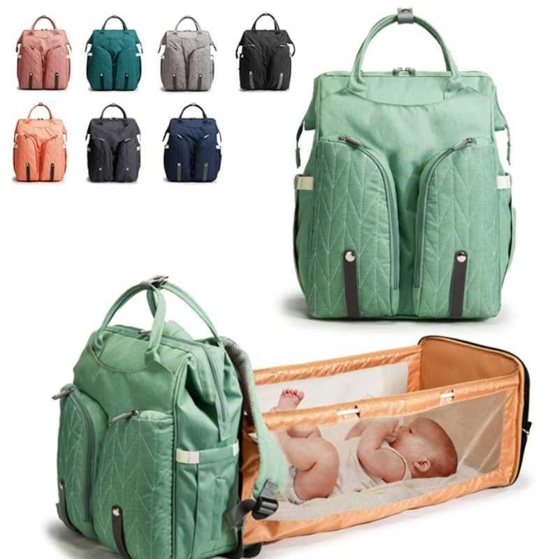 With Multifunction Bag Moms And Waterproof Bag Baby Maternity Bags Diaper Mattress Nursing Dads Handbag Bed Stroller Backpack Xbceb