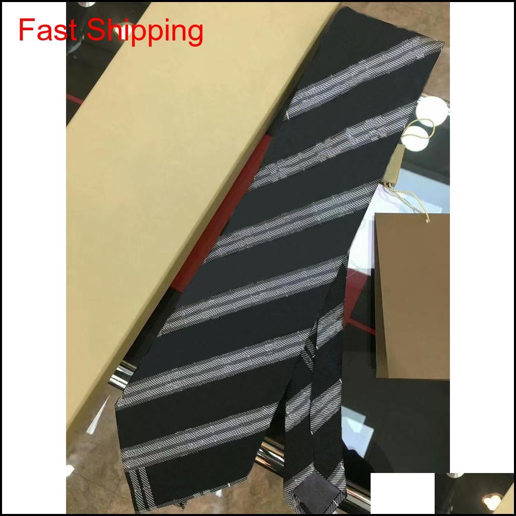 High-End Silk Necktie Mens Business Silk Ties Neckwear Jacquard Business Tie Wedding Neckwearfsdf V0Sdg