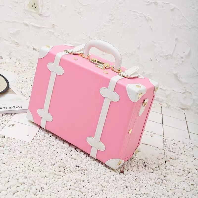 Para el bolso de la palanca de la palanca de handbag de cuento 12/14/15 retro lindo viajes tote vintage mano viajes mujeres ikvoi wgsfv