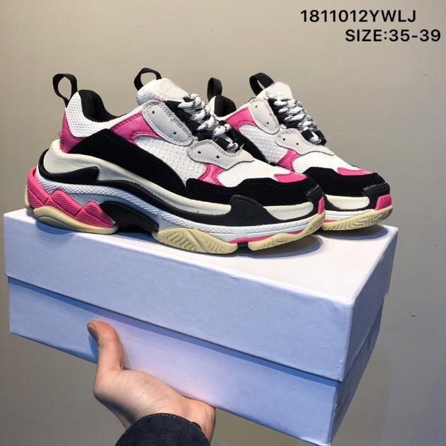 Triple S 2020 Paris Paris DAD Роскошные дизайнерские Обувь Золотой Винтаж Триплер Повседневная Платформа Мужские Женщины Кроссовки Тренажеры Chaussures de Say Hommes