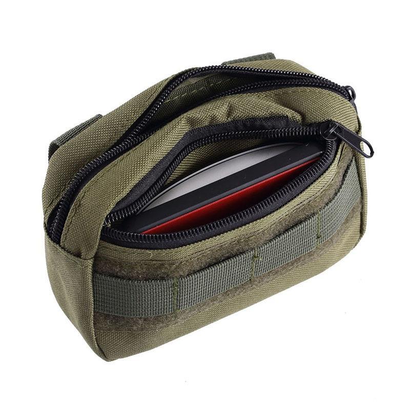 Mulit-couleur Hunting Professional Tool Pack Fan Camping Mêle Pouch tactique Organisateur de poche Bel