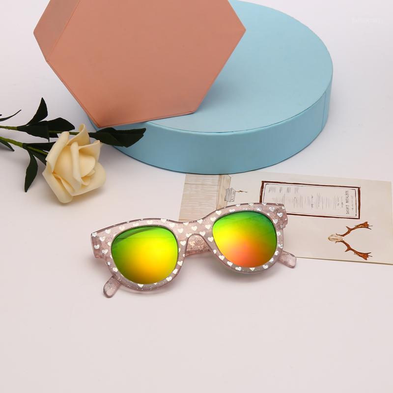 2020 Gafas de sol Venta al por mayor Vendedores a granel al Por Mayor Rosa Gafas de sol Niños UV400 Glasses Glasses1