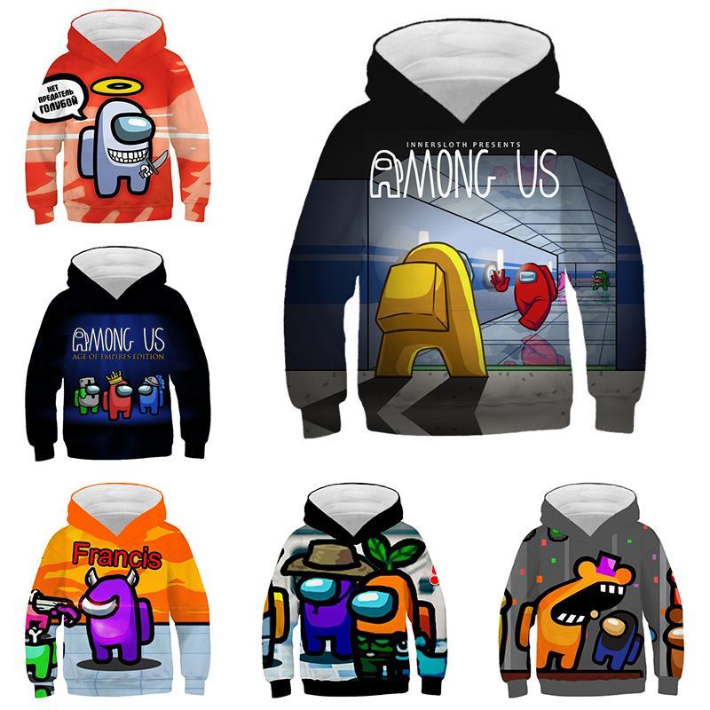 In stock fashion Game Among Us 3D Print Hoodie Sweatshirts Men Women Fashion Casual Pullover Harajuku Streetwear Oversized Hoodies