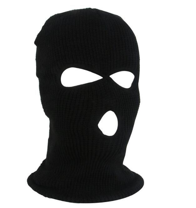 3 홀 CS의 따뜻한 비니 모자 겨울 야외 사이클링 스키 스포츠면 커버 마스크 전술 따뜻한 모자 스카프 저렴